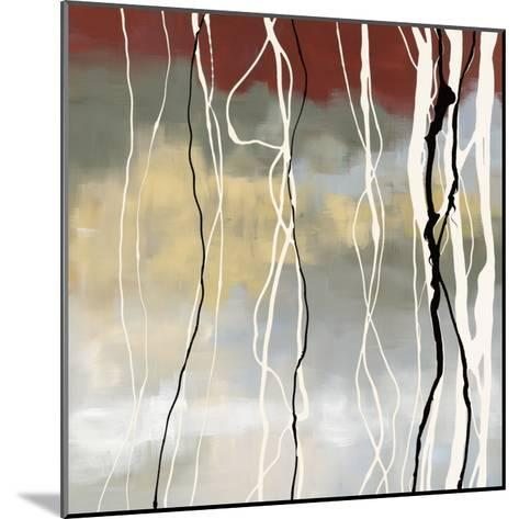 Silver Birch I-Laurie Maitland-Mounted Art Print