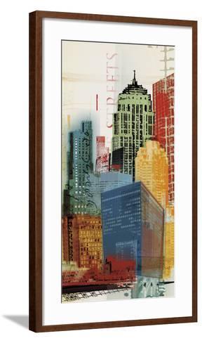 Urban Style II-Noah Li-Leger-Framed Art Print