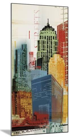 Urban Style II-Noah Li-Leger-Mounted Art Print