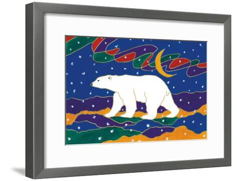 Papa Bear-Dawn Oman-Framed Art Print