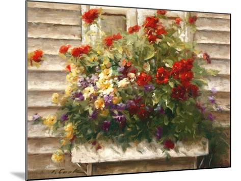Cape Cod Window Box-Ian Cook-Mounted Art Print