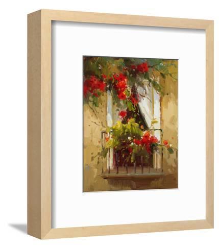 Romantic Window I-Calvin Stephens-Framed Art Print