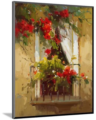 Romantic Window I-Calvin Stephens-Mounted Art Print