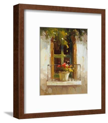 Romantic Window II-Calvin Stephens-Framed Art Print