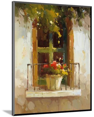 Romantic Window II-Calvin Stephens-Mounted Art Print