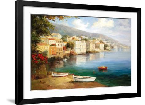 Tranquil Cove-J^ Price-Framed Art Print
