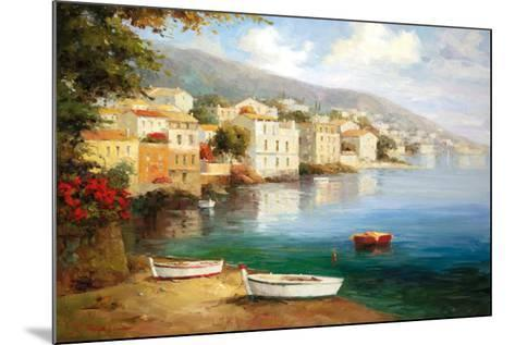 Tranquil Cove-J^ Price-Mounted Art Print