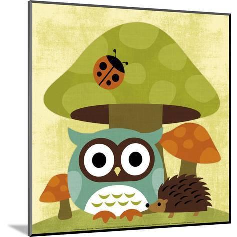 Owl and Hedgehog-Nancy Lee-Mounted Art Print