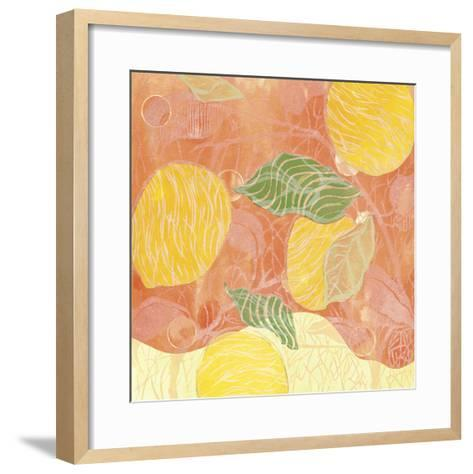 Citrus Limon II-Ouida Touch?n-Framed Art Print