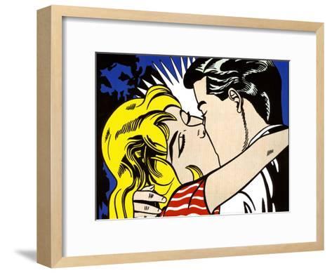 Kiss II, c.1962-Roy Lichtenstein-Framed Art Print