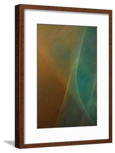 Abstract Vibe V-Jean-Fran?ois Dupuis-Framed Art Print