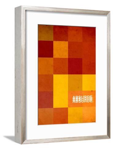 Absurde-Pascal Normand-Framed Art Print
