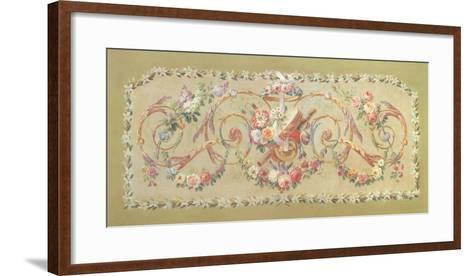 Alegorias Musicales I--Framed Art Print