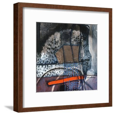 Alvéolé (Détail 2)-Sylvie Cloutier-Framed Art Print
