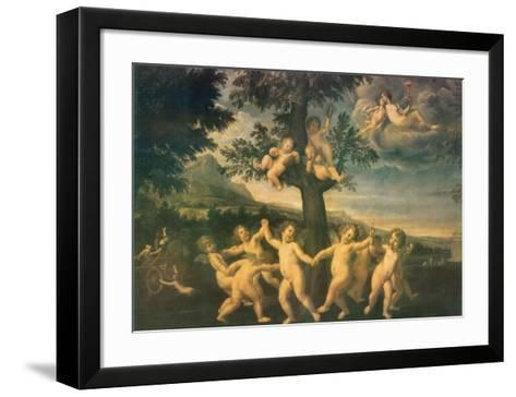 Angels In A Tree--Framed Art Print
