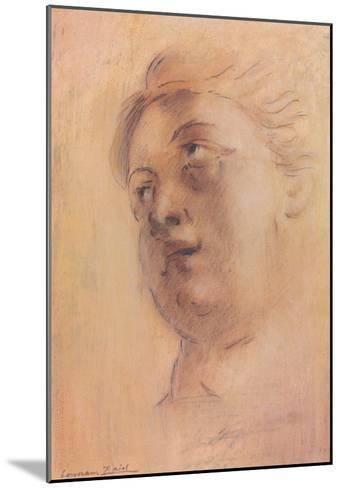 Antique Portrait II-Lewman Zaid-Mounted Art Print