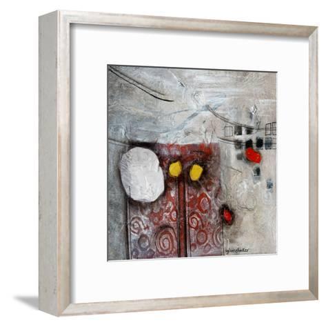 Ascension (Détail 1)-Sylvie Cloutier-Framed Art Print