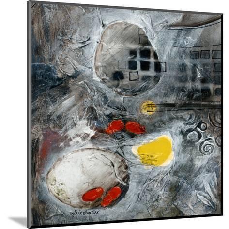 Ascension (Détail 2)-Sylvie Cloutier-Mounted Art Print