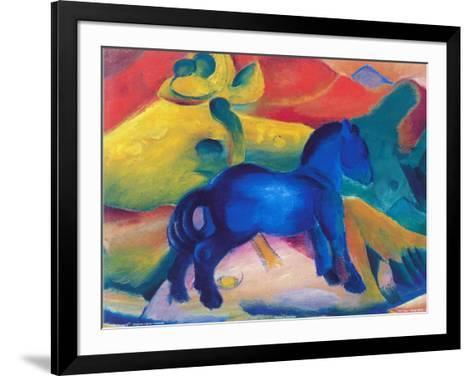 Blaues Pferdchen-Franz Marc-Framed Art Print