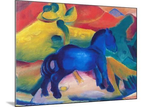 Blaues Pferdchen-Franz Marc-Mounted Art Print