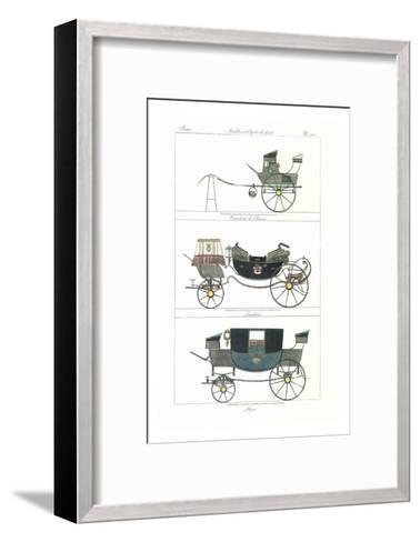 Carruajes IV--Framed Art Print