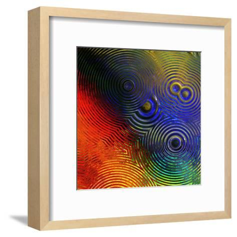 Colorful Abstract I-Jean-Fran?ois Dupuis-Framed Art Print