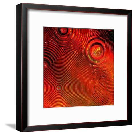 Colorful Abstract II-Jean-Fran?ois Dupuis-Framed Art Print