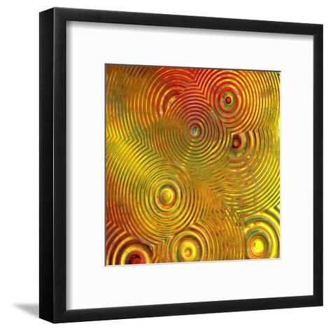 Colorful Abstract III-Jean-Fran?ois Dupuis-Framed Art Print