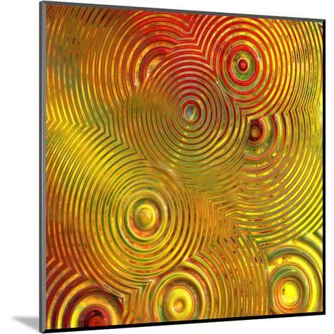 Colorful Abstract III-Jean-Fran?ois Dupuis-Mounted Art Print