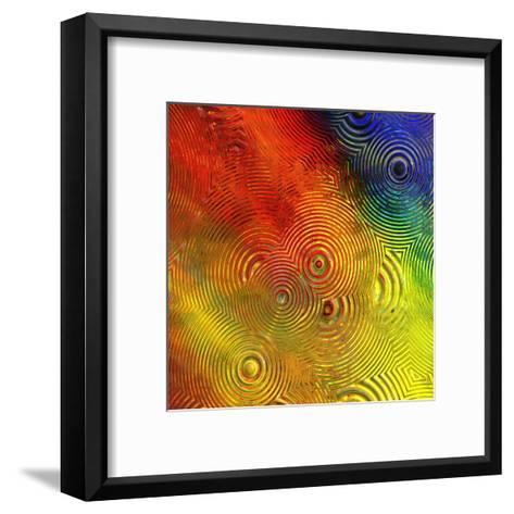 Colorful Abstract IV-Jean-Fran?ois Dupuis-Framed Art Print