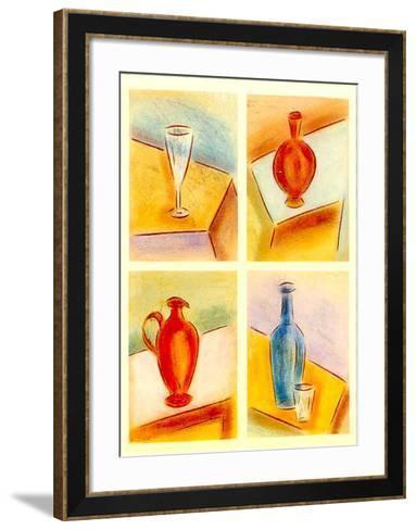 Contemporary Nature II-Lewman Zaid-Framed Art Print