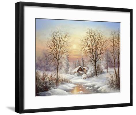 Cosy Winter-Helmut Glassl-Framed Art Print