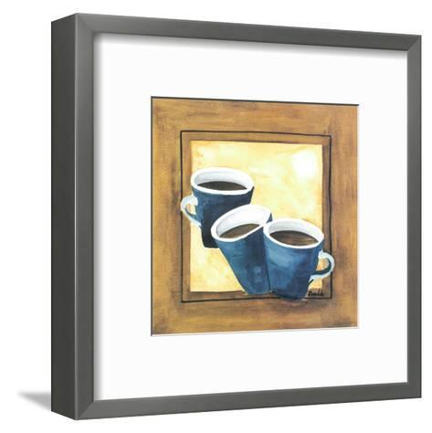 Cups Of Coffee III-Urpina-Framed Art Print