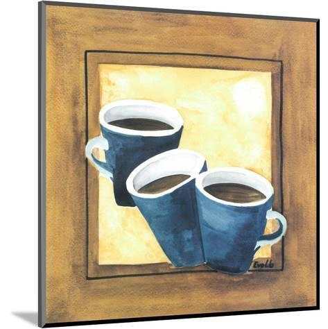 Cups Of Coffee III-Urpina-Mounted Art Print