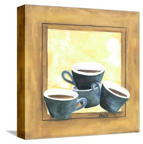 Cups Of Coffee IV-Urpina-Stretched Canvas Print