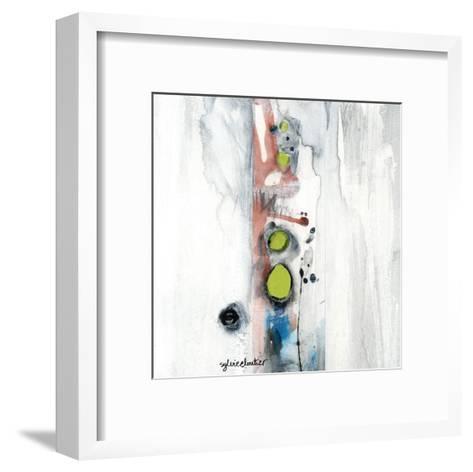 Encré (Détail 1)-Sylvie Cloutier-Framed Art Print