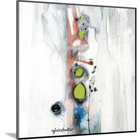 Encré (Détail 1)-Sylvie Cloutier-Mounted Art Print