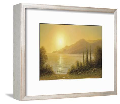 Evening In Jalta-A^ Gorjacev-Framed Art Print