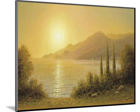 Evening In Jalta-A^ Gorjacev-Mounted Art Print