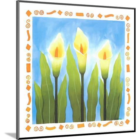 Flowers Reaching For The Sky II-Urpina-Mounted Art Print