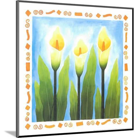 Flowers Reaching For The Sky III-Urpina-Mounted Art Print