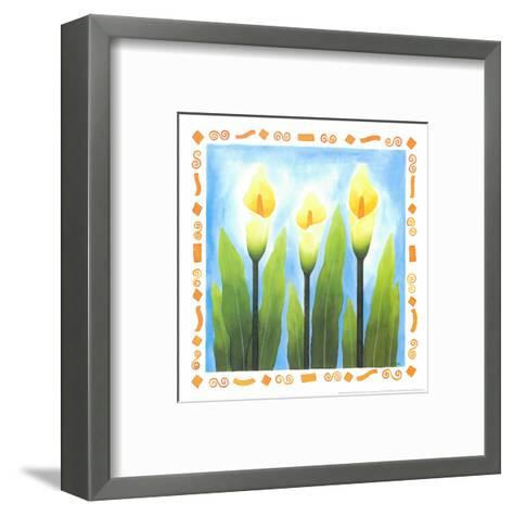 Flowers Reaching For The Sky III-Urpina-Framed Art Print