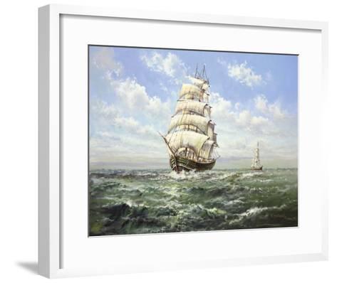 Full Speed Ahead II-Helmut Glassl-Framed Art Print
