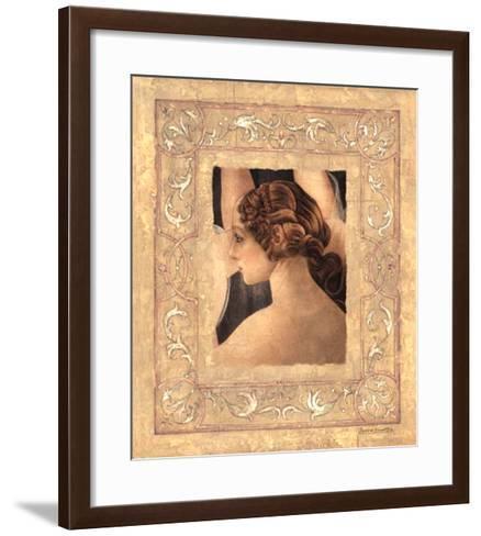 Hommage À Botticelli II-Javier Fuentes-Framed Art Print