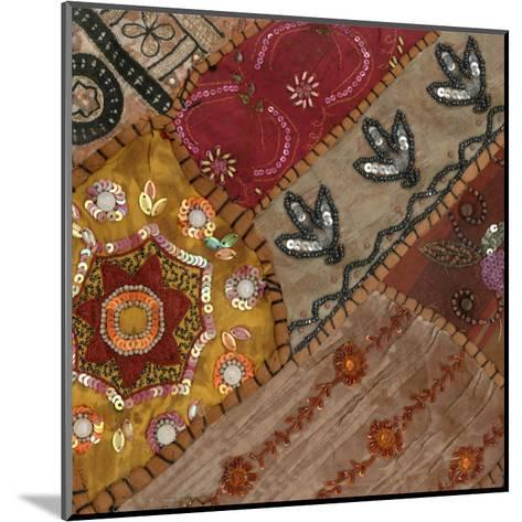 India Art I--Mounted Art Print