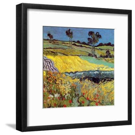 La Plaine D'Auvers-Vincent van Gogh-Framed Art Print
