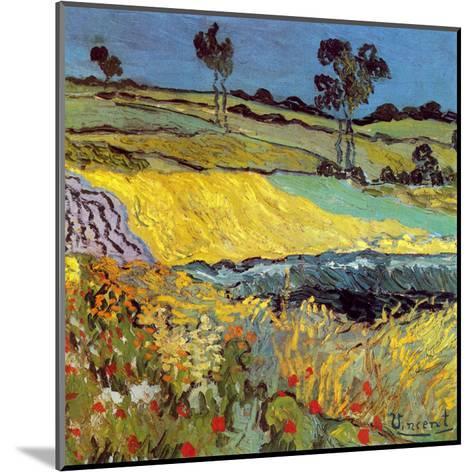 La Plaine D'Auvers-Vincent van Gogh-Mounted Art Print