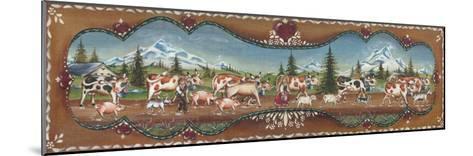 Le Berger Et La Bergère-St?phanie Holbert-Mounted Art Print