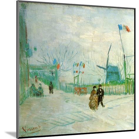 Le Moulin A Poivre (Détail 1)-Vincent van Gogh-Mounted Art Print