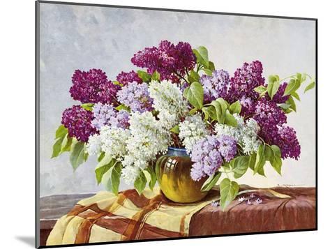 Lilac-E^ Kruger-Mounted Art Print